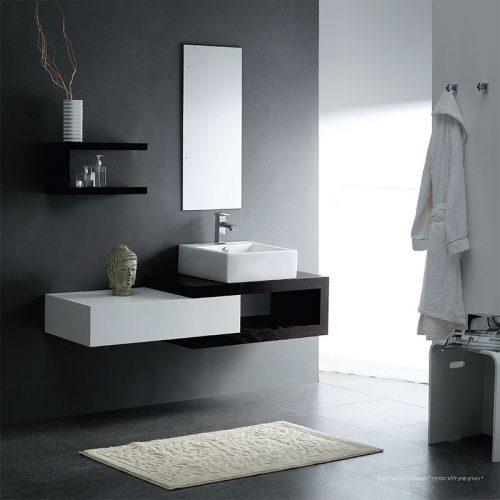 Bathroom Comely White Bathroom Decoration Using: צפו בקטלוג ארונות אמבטיה באיכות מעולה