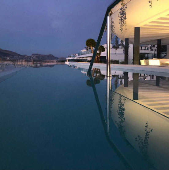 sealing for swimming pools